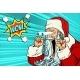 Wow Santa Claus Christmas Character