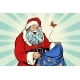 Joyful Santa Claus Without Gifts - GraphicRiver Item for Sale