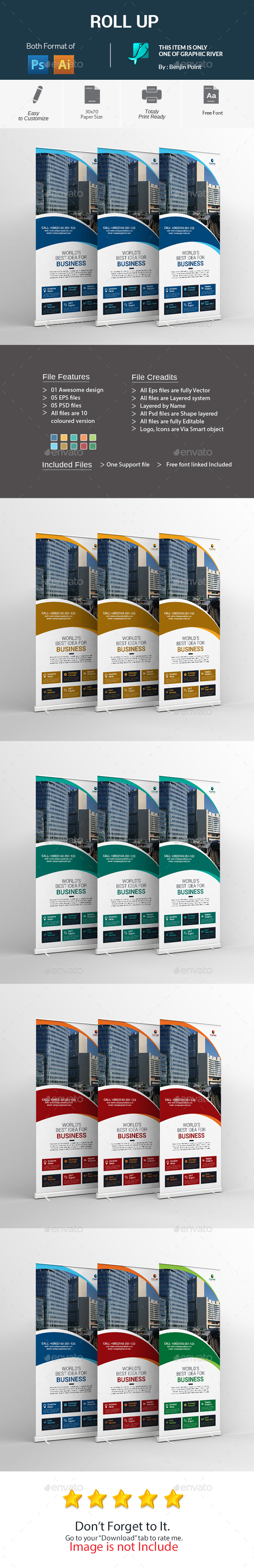 GraphicRiver Roll Up 20654239
