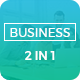 Complete Business - 2 In 1 PowerPoint Template Bundle