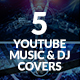 Youtube Music Channel Art - GraphicRiver Item for Sale
