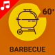 Barbecue Tool Kitchen Animation - Line Icons and Elements