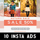 Instagram Fashion Banner #10 - GraphicRiver Item for Sale