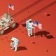 People on Mars Composition