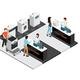 Household Appliances Shop Isometric Concept