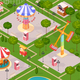 Summer Amusement Park for Children