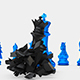 Blue King Boss vs Black Queen - VideoHive Item for Sale