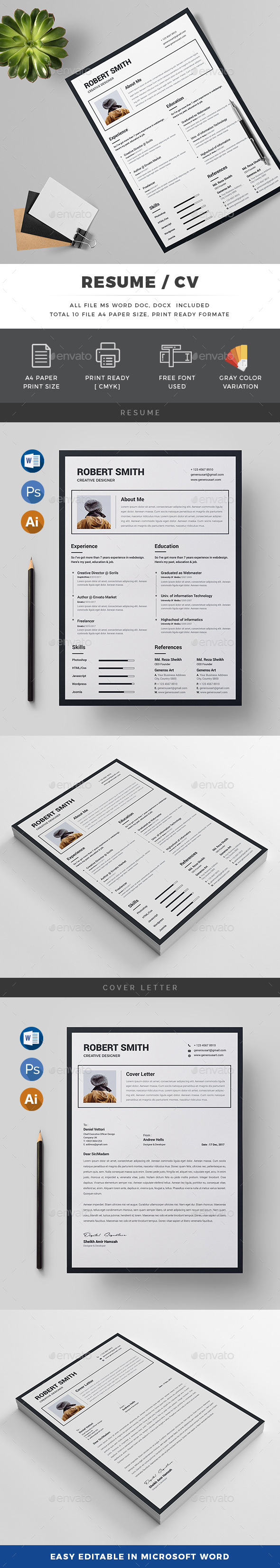 GraphicRiver Resume 20654691