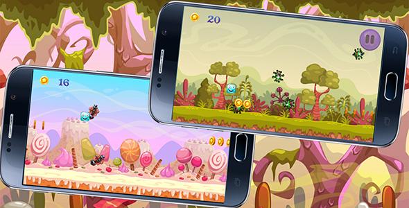 CodeCanyon Downward Bounce iOS Admob & Chartboost & XCODE 20654692