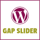Gap Slider Responsive Slider for WordPress that works with WP Posts or Images