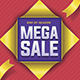 Mega Sale Flyer Poster