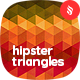 Hipster Triangles Backgrounds - GraphicRiver Item for Sale