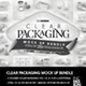 Clear Packaging MockUp BUNDLE