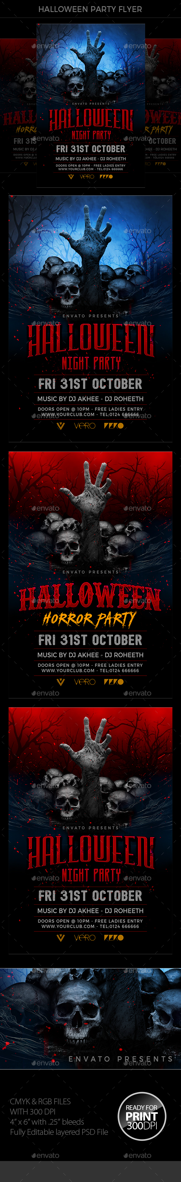 Halloween Flyer - Events Flyers