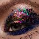Eye Makeup. Beautiful Eyes Glitter Make-up. - PhotoDune Item for Sale