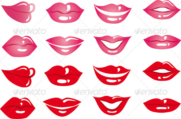 Lips Pack - Miscellaneous Characters