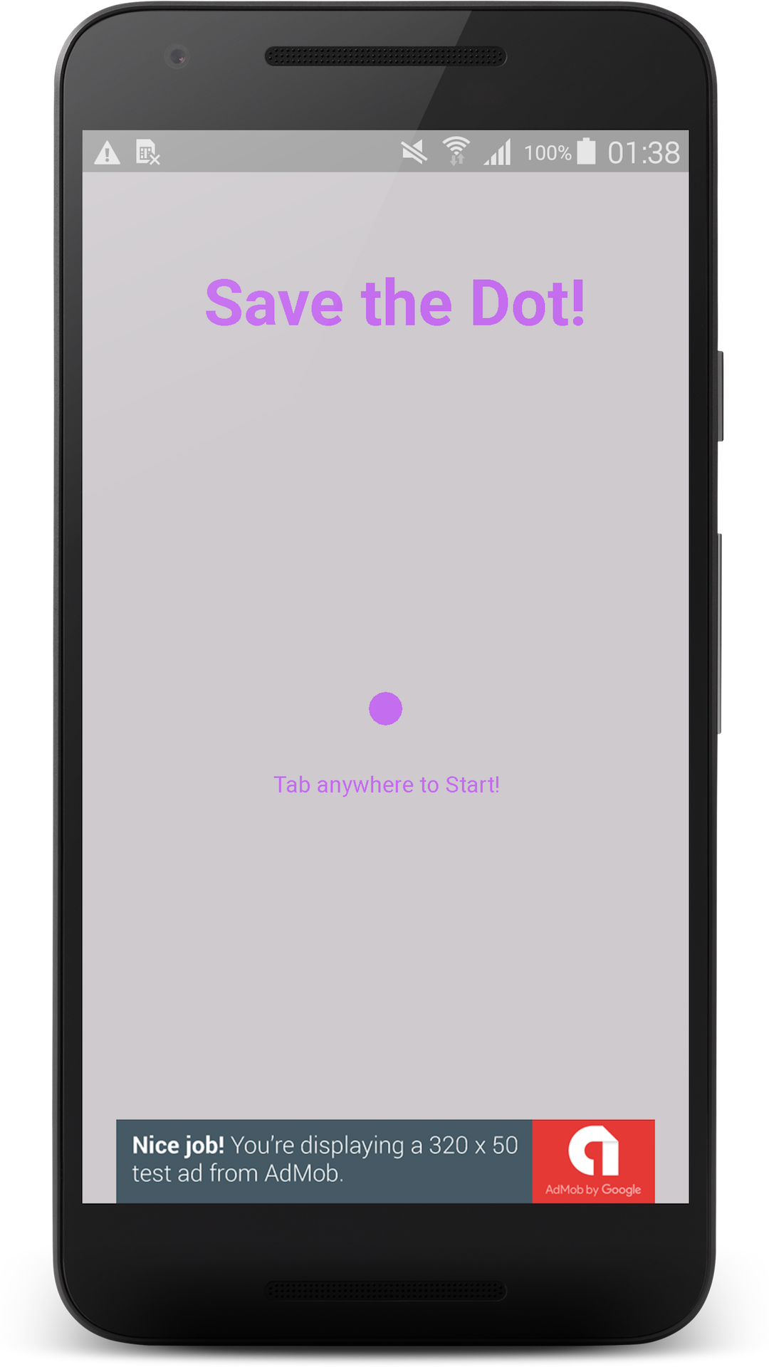 Save The Dot - Arcade Game Template (Android + AdMob) by enrico20 ...
