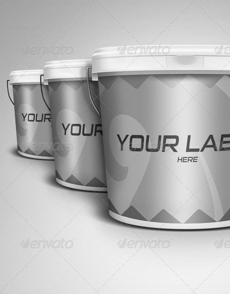 paint bucket mockup premium kit by gunzkingzart