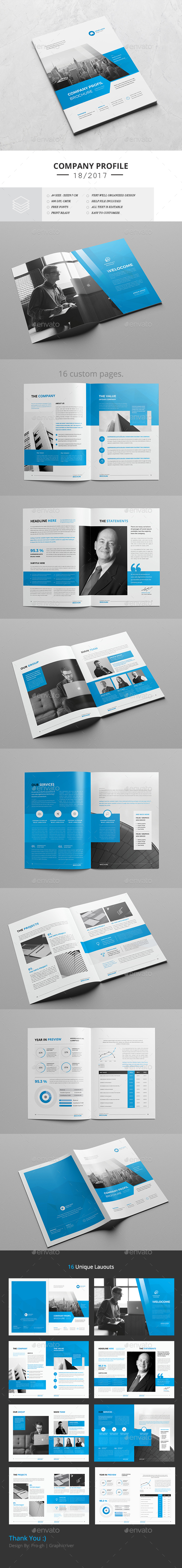 GraphicRiver Corporate Brochure 16 Pages 20655591