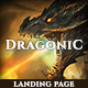 Dragonic: The Ultimate Premium Gaming Landing Page