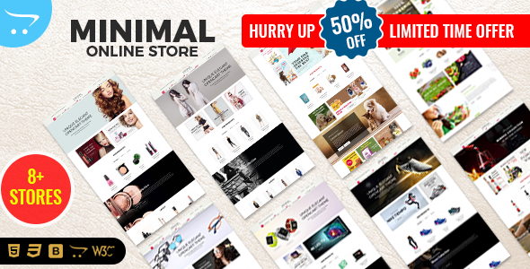 Minimal - Responsive OpenCart Theme - OpenCart eCommerce
