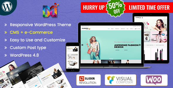 Maximum - MultiPurpose Responsive WordPress Theme