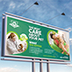 Pets Care Billboard Template