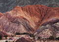 Purmamarca and Hill of Seven Colours in Argentina