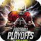 Football Playoffs Flyer Template