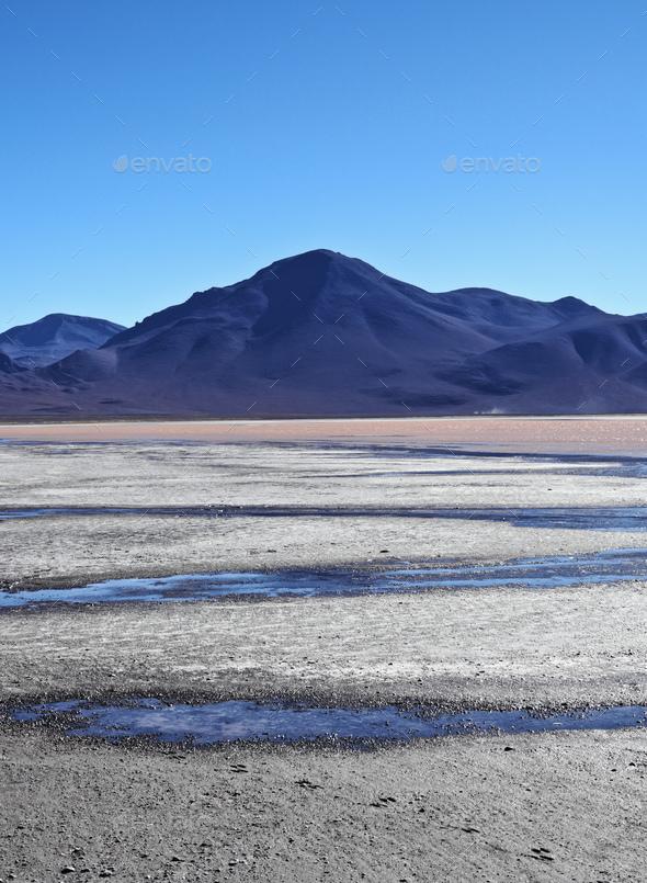 Bolivian Landscape - Stock Photo - Images