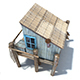 Fishing Cabin - 3DOcean Item for Sale