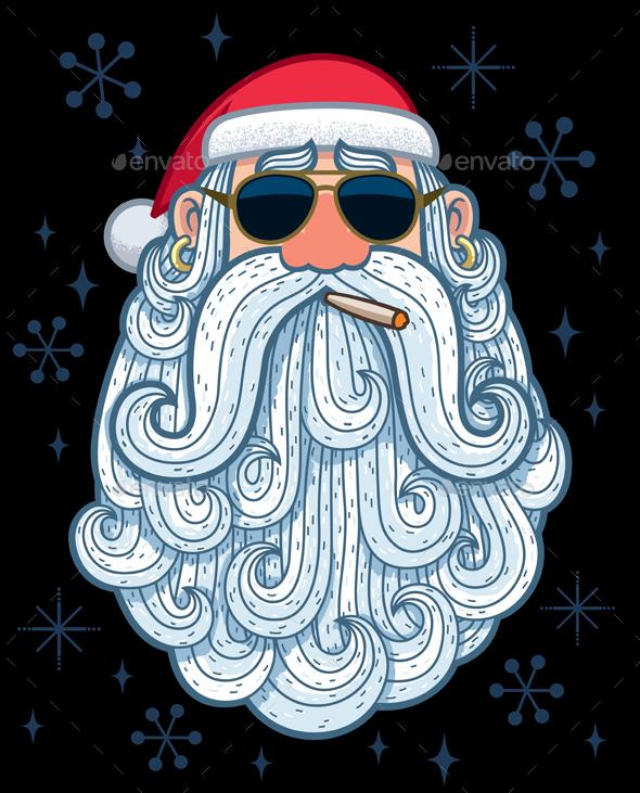 GraphicRiver Santa Portrait 3 Cool 20656589