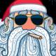 Santa Portrait 3 - Cool - GraphicRiver Item for Sale