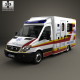 Mercedes-Benz Sprinter (W906) Ambulance 2011 - 3DOcean Item for Sale