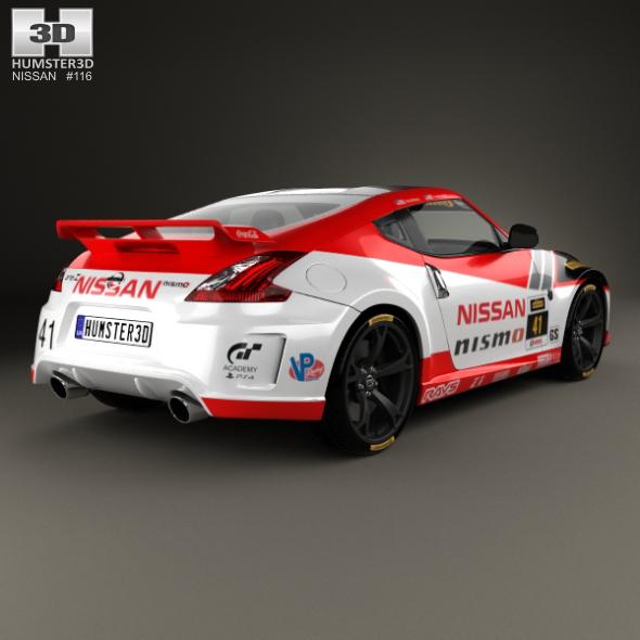 Nissan 370Z Nismo GT Academy 2009   3DOcean Item For Sale.  Nissan_370Z_(Mk1)_Nismo_GT Academy_2009_590_0001 ...