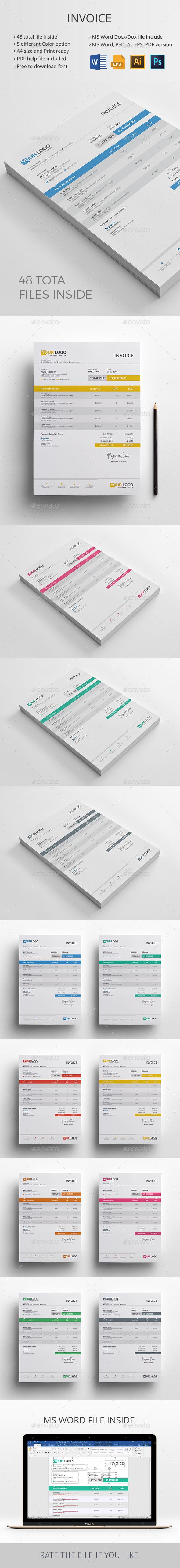 GraphicRiver Invoice 20656731