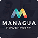 Managua - Multipurpose Powerpoint Template - GraphicRiver Item for Sale