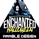 Enchanted Halloween Party Flyer
