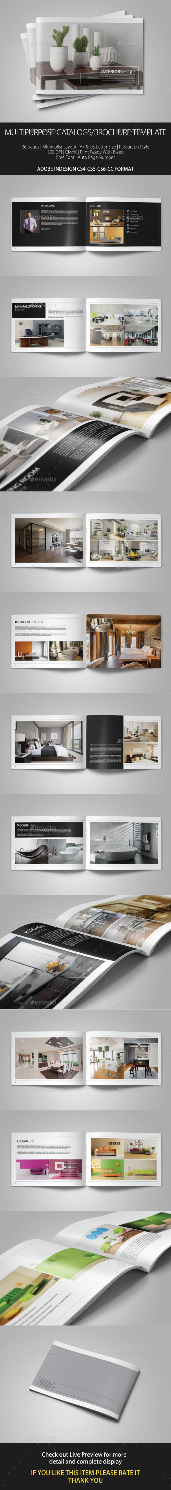 GraphicRiver Multipurpose Catalogs Brochure Template vol 2 20656939