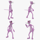 Pink Panther (4 ANIMATION) - 3DOcean Item for Sale