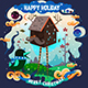 Happy Holiday - GraphicRiver Item for Sale