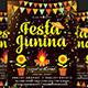 Festa Junina Flyer