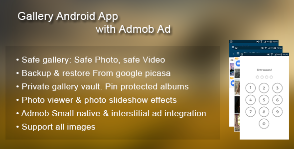 CodeCanyon Photo Gallery lock with Admob Ad 20657080