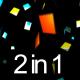 Square Confetti (2in1) - VideoHive Item for Sale