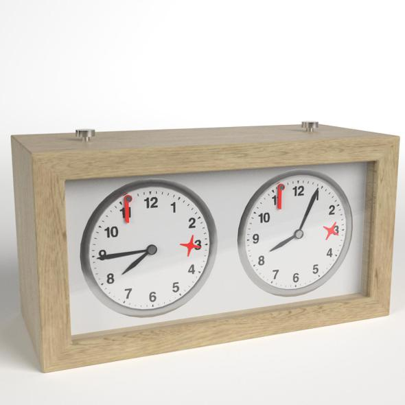 Chess Clock 1 - 3DOcean Item for Sale