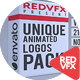 Unique Animated Logos Pack - VideoHive Item for Sale