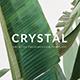 Crystal Minimal Google Slide Template