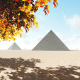 Pyramids in Sand - VideoHive Item for Sale