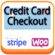 Display a visual credit card on your checkout