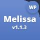 Melissa - Personal Blog/Magazine WordPress Theme